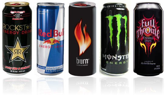 competition in energy drinks sport drinks