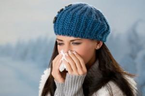 Winter allergies.
