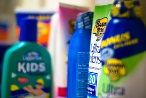 Not using sunscreen is more dangerous than the chemicals in sunscreen.