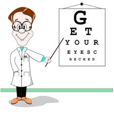 eye exam check up optometry