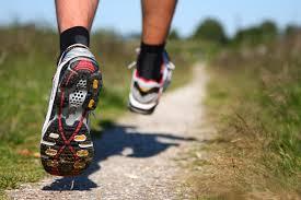 running athlete's foot